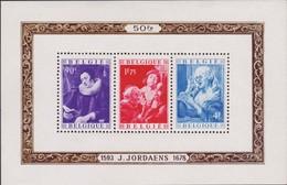 Belgie  .   OBP   .     Blok  27/28  .   2 Scans  .   **    .   Postfris ZONDER Plakker    .   /  .  Neuf SANS Charniere - Blocks & Sheetlets 1924-1960