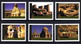 UNO WIEN MI-NR. 445-450 ** KULTUR- Und NATURERBE Der MENSCHHEIT ÄGYPTEN 2005 - Wien - Internationales Zentrum