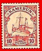 3376 -- CAMEROUM  --  1905 - N° 21** Neuf  TB  Filigramme Losange - Cameroun (1960-...)