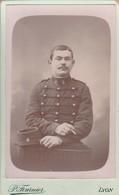 Photo : C.D.V. : Militaire : Soldat - 6é Régt. à Définir : Poto.  P. FOURNIER  :  Lyon : Rhone - War, Military