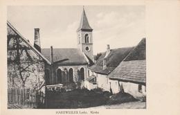 Harzweiler-Lothringen-Kirche  1916 - Lothringen