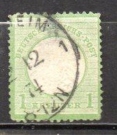 Allemagne Empire N° 7 Oblitéré Used Cote : 75,00 Euros - Oblitérés