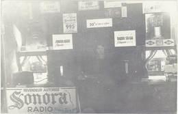 Cpa Carte-photo – Revendeur Autorisé Sonora Radio, Desportes ( Exposition ? ) - Commerce