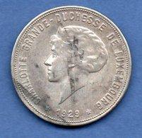 Luxembourg  -  10 Francs 1929  - Km # 39  -  état  TTB - Luxembourg