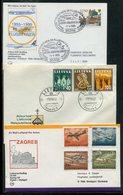 Belegeposten / 14 Belege (5/729-60) - Briefmarken