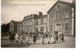 LE CREUSOT  -  Ecole Libre De Filles - Le Creusot