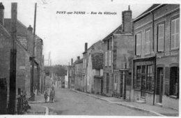 PONT-sur-YONNE Rue Du Gâtinais (1875) - Pont Sur Yonne