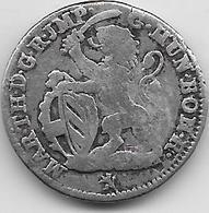 Pays Bas - Escalin - Schelling - Marie Thérèse - 1750 - Argent - [ 1] …-1795 : Oude Periode