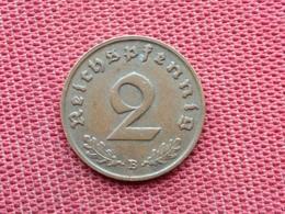 ALLEMAGNE Monnaie 2 Pfennig 1938 B Superbe état - [ 4] 1933-1945 : Third Reich