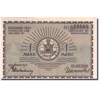 Billet, Allemagne, Plön, 1 Mark, Paysage, 1921, SPL, Mehl:1064.1 - Allemagne