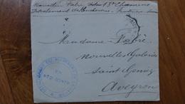 Enveloppe Detachement Des Bucherons De La Savoie 97eme Regiment Infanterie 1916 - 1914-18