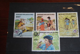 Lot Timbres CONGO Populaire Oblitérés Et Neufs - Congo - Brazzaville