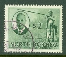 North Borneo: 1950/52   KGVI - Pictorial    SG368   $2  Used - North Borneo (...-1963)