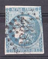 Cérès Bordeaux N° 46A - GC 2539 Morlaix (Finistère) - 1870 Bordeaux Printing