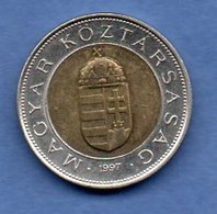 Hongrie  -  100 Forint 1997  - Km # 721  -  état  TTB+ - Hungary