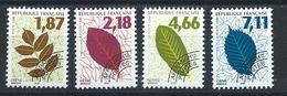 France Préo N°236/39** (MNH) 1996 - Feuilles D'arbres (II) - Préoblitérés
