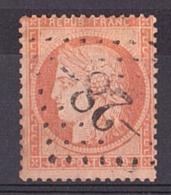 Cérès N° 38 - GC 28 Aillevillers (haute-Saône) - Marcophilie (Timbres Détachés)