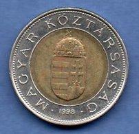 Hongrie  -  100 Forint 1998  - Km # 721  -  état  TTB+ - Hungary