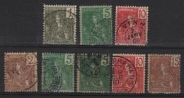 INDO 10 - INDOCHINE Lot De 8 Val. Obl. - Indochina (1889-1945)
