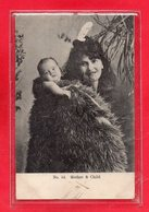 NOUVELLE ZELANDE - MOTHER & CHILD - N°54 - Nouvelle-Zélande