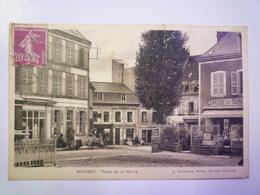 MAINSAT  (Creuse)  :  Place De La  MAIRIE   1934   XXX - Altri Comuni