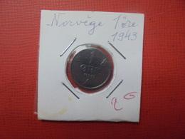 NORVEGE 1 ÖRE 1943 (A.4) - Norvège