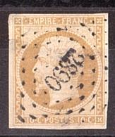 Napoléon III N° 13A - PC 2890 Seyches (Lot Et Garonne) - Marcophilie (Timbres Détachés)