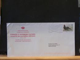 82/140A  LETTRE  BELGE - Oiseaux