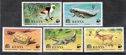 Kenya 1977 WWF Endangered Species MLH CV £3.95 - Game