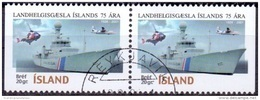 IJsland 2001 Kustbewaking Paar GB-USED. - 1944-... Republique