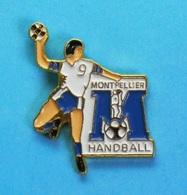 1 PIN'S  //   ** MONTPELLIER / HANDBALL ** - Handball