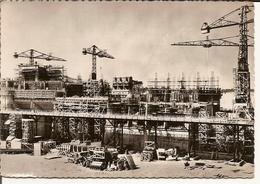 FESSENHEIM     Usine En Construction, Vue De L'aval - Fessenheim