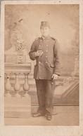 Photo : C.D.V. : Militaire : Soldat -  Régt. à Définir : Photo. Photographie 24 : Paris - Guerre, Militaire