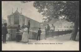 "SWITZERLAND - Geneva, Bâtiment Des Forces Motrices (French For ""Power Plant Building"") - Vintage  Postcard (APAT2-244) - GE Geneva"