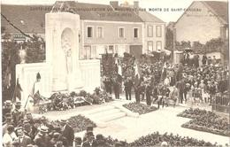 Dépt 89 - SAINT-FARGEAU - Carte-Souvenir De L'Inauguration Du Monument Aux Morts (27 Juillet 1924) - CARTE-PHOTO - Saint Fargeau