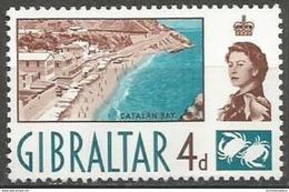 Gibraltar - 1960 Catalan Bay 4d MNH **  Sc 152 - Gibraltar