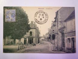 MAREUIL  (Cher)  :  GRANDE-RUE   1930   XXX - France