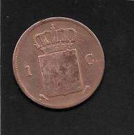 Pays Bas - 1 Cent - 1827 - [ 3] 1815-… : Kingdom Of The Netherlands