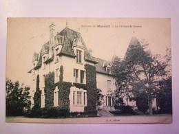 Environs De  MAREUIL  (Cher)  :  Le Château De  GOUERS   1935   XXX - Autres Communes