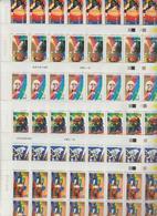 Faciale 138 Eur à 50% ; 6 Feuilles  De 50 Tbs à 0.46 N° 3500 à 3505 (cote 300 Eur) - Ganze Bögen