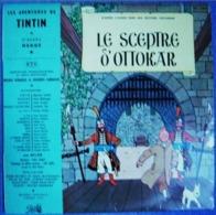 TINTIN Vinyle 33 Tours 25 Cms LE SCEPTRE D OTTOKAR - Kinderlieder