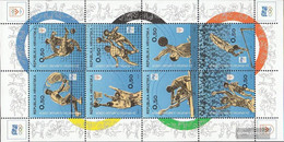 Croatia Z50-Z57 Sheetlet IV (complete Issue) Unmounted Mint / Never Hinged 1994 Olympic. Committee - Croatia