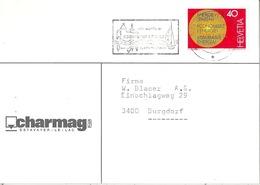 """Motiv Karte  """"Charmag, Estavayer-le-Lac""""            1976 - Lettres & Documents"""