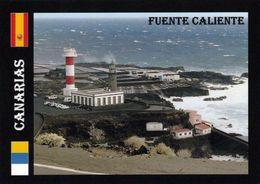 1 AK Spanien Insel La Palma * Leuchttürme An Der Südspitze Der Insel La Palma - Sie Gehören Zur Gemeinde Fuente Caliente - La Palma