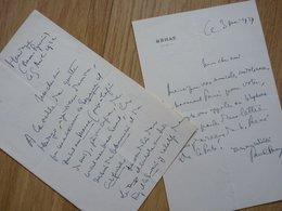 Paul STRAUSS (1852-1942) Vice President SENAT - HENDAYE - Académie Médecine ... AUTOGRAPHE - Autografi