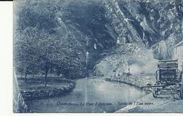 Nismes Le Pont D'Avignon Sortie De L'eau Noire   (10646) - Viroinval