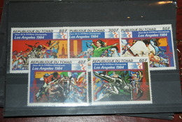 Lot Timbres Tchad Jeux Olympiques - Chad (1960-...)