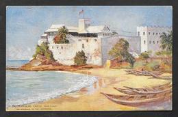CHRISTIANSBORG CASTLE OSU CASTLE GOLD COAST GHANA ACCRA TUCK'S POST CARD UNUSED - Ghana - Gold Coast