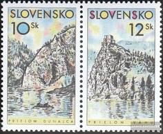 Slowakei 359-360 Coppia (completa Edizione) MNH 2000 Casa - Slovacchia