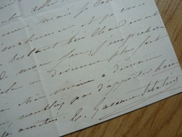 Emilie GAVEAUX SABATIER (1820-1896) Cantatrice SOPRANO. Art Lyrique. AUTOGRAPHE - Autographs